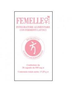 Femelle Bromatech Integratore con Fermenti Lattici produttori di Batteriocine Confezione da 30 capsule da 585 mg