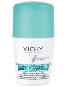 Vichy Deodorante Regolatore Anti-Traspirante 48H Roll-on Roll-on da 50 ml