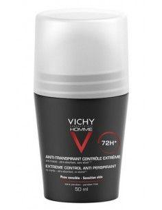 Deodorante Anti-traspirante 72h - Vichy Homme Roll-on 50 ml