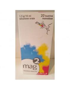 MAG 2 - Magnesio Pidolato 20 bustine monodose di soluzione orale