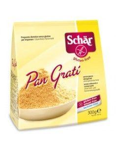 Schär Pan Gratì.Confezione da 300 gr di preparato dietetico per impanare