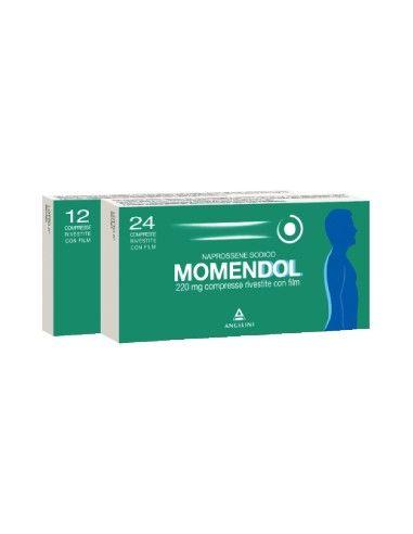 Momendol 220 24 Compresse Rivestite 220 mg
