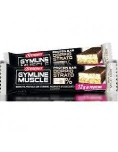 Enervit Gymline GUSTO MILK-CIOK - 1 Barretta Proteica da 45g ricoperta di cioccolato fondente