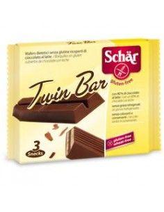Schär Twin Bar  (wafers) - Confezione da 64,5 g (3 barrette da 21,5 g)