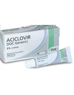 Aciclovir Doc Generici Crema 5% 3g
