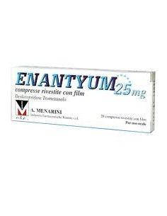 Enantyum 20 Compresse Rivestite con Film 25 mg