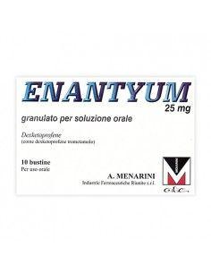 Enantyum 10 Bustine Granulato 25 mg