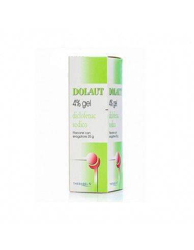 Dolaut Gel Spray Flacone 25g/4%