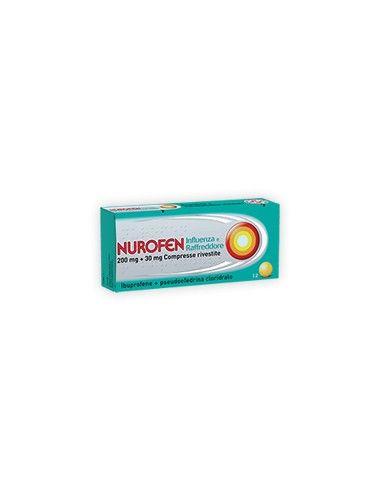 Nurofen Influenza E Raffreddore 12 Compresse Rivestite 200mg +30mg