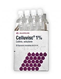 Celluvisc Collirio 30 Flaconcini 0,4 ml 10 mg