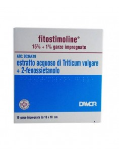 Fitostimoline 10 Garze Impregnate 15%