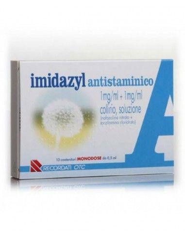 Imidazyl Antistaminico Collirio 10 Flaconi 0,5 ml