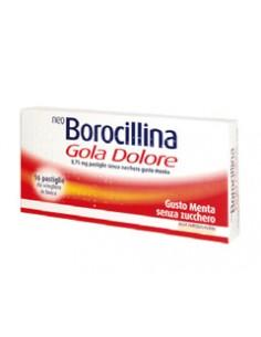Neo Borocillina Gola Dolore - Flurbiprofene 8,75 mg Pastiglie Senza Zucchero 20
