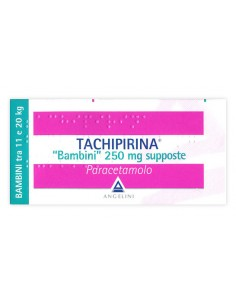Tachipirina Bimbi 10 Supposte 250 mg