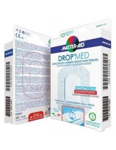 DROPMED Medicazione Adesiva Sterile 5 medicazioni 10 x 6 cm