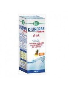 Diurerbe Forte - Drink Diuretico Drenante GUSTO ANANAS - Flacone da 500 ml
