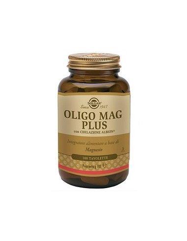 Solgar Oligo Mag Plus Flacone da 100 tavolette