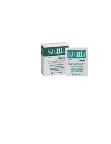Saugella Attiva Salviettine pH 4.5 Confezione da 10 salviettine singole
