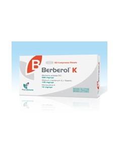 Berberol K - Integratore di berberina Berberol K  30 cpr