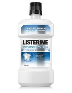 LISTERINE Collutorio Advanced White Flacone da 500 ml