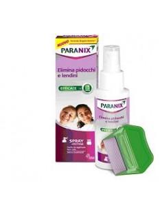 Paranix Spray + Pettine contro pidocchi e lendini Spray 100 ml + Pettine