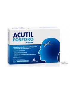 Acutil Fosforo Advance - Integratore per Concentrazione e Attenzione Confezione da 50 compresse