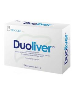 Duoliver ® - Silimarina per la Salute del Fegato Confezione da 24 cpr da 1,2 g