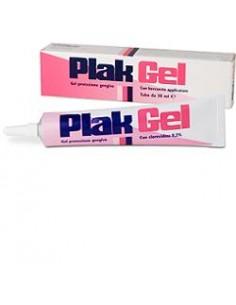 Plak ® Gel - Antiplacca Gengivale Tubo da 30 ml con beccuccio applicatore