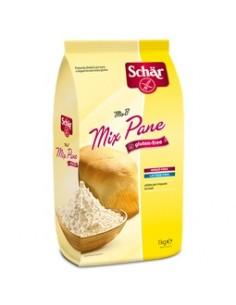 Schär Mix Pane - Mix B. Confezione da 1000 g di preparato dietetico per pane e impasti lievitati + 2 bustine di lievito secco