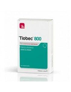 Laborest Tiobec 800 Compresse 20 Compresse Fast Slow da 1,7 g cad.