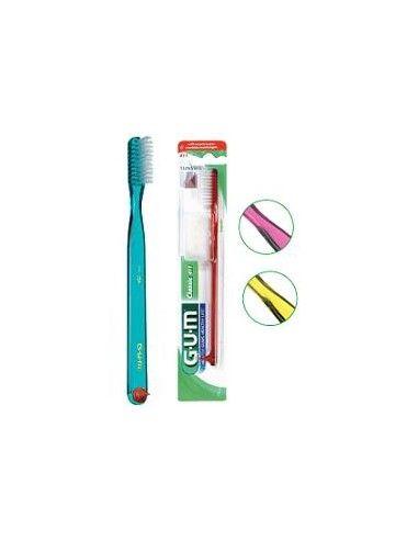 GUM Spazzolino Classic contiene 1 spazzolino, formato: morbido classic 411