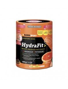 Named Sport HydraFit Hypotonic Drink con Magnesio, Potassio, Maltodestrine e 9 Vitamine Barattolo di polvere solubile da 400 g