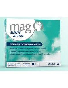 Mag Mente Attiva - Integratore Memoria e Concentrazione 20 bustine orosolubili monodose