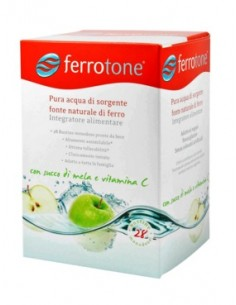 Ferrotone con Succo di Mela e Vitamina C 28 bustine liquide da 25 ml