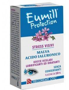 Eumill Protection Gocce Oculari Lubrificanti e Idratanti Flacone pluridose da 10 ml