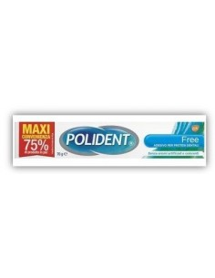 Polident Free - Adesivo per Dentiere Ipoallergenico Tubetto maxi convenienza da 70 g