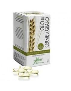 Olio di Germe di Grano - Concentrato Oleoso Aboca Flacone da 50 opercoli da 610 mg