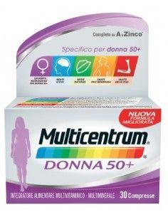 Multicentrum Donna 50+ Confezione da 30 cpr.