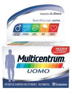 Multicentrum Uomo Confezione da 30 compresse