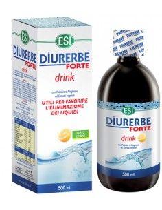 Diurerbe ® Forte - Drink Diuretico Drenante GUSTO LIMONE- Flacone da 500 ml