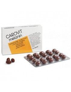 Carovit Melanin senza betacarotene confezione da 20 compresse
