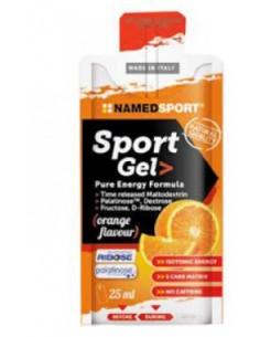 Named Sport Gel - Pure Energy Formula 1 Mopack da 25 ml, Gusto Orange