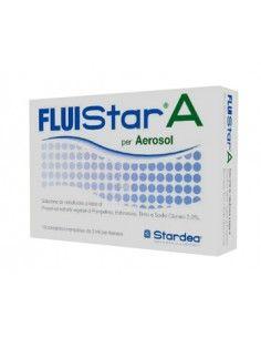 FLUIStar A per Aerosol – Soluzione da Nebulizzare 10 contenitori monodose da 3 ml per aerosol