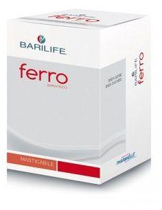 Barilife Ferro Bariatrico 60 compresse masticabili da 900 mg