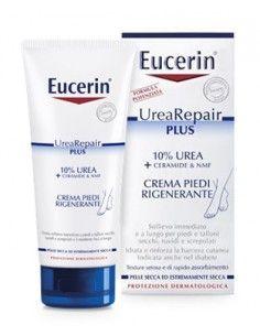 Crema Piedi Rigenerante Eucerin - UreaRepair PLUS 1 tubetto da 100 ml, con 10% Urea e NMF