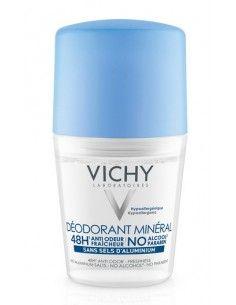 Vichy Deodorante Minerale Anti-Odore 48H Roll-on Flacone da 50 ml