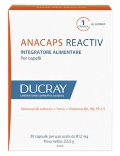 Ducray Anacaps Reactiv -  3 confezioni (2+1 omaggio) 30 cps da 812 mg (per confezione)