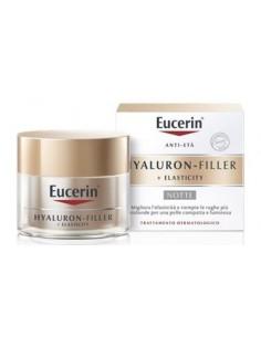 Crema Viso Notte Eucerin Hyaluron-Filler + Elasticity Vasetto da 50 ml