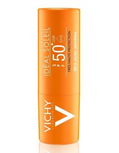 Idéal Soleil Stick Zone Sensibili SPF 50+ Protezione Molto Alta Stick da 9 g