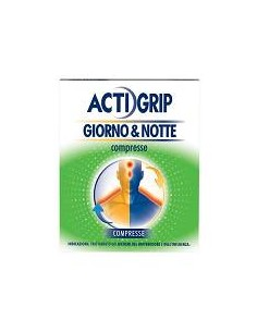 ACTIGRIP GIORNO & NOTTE COMPRESSE